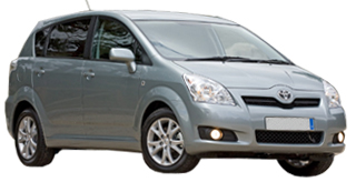 Rent a Family 7 Seater Vehicle (group F) Cafisa
